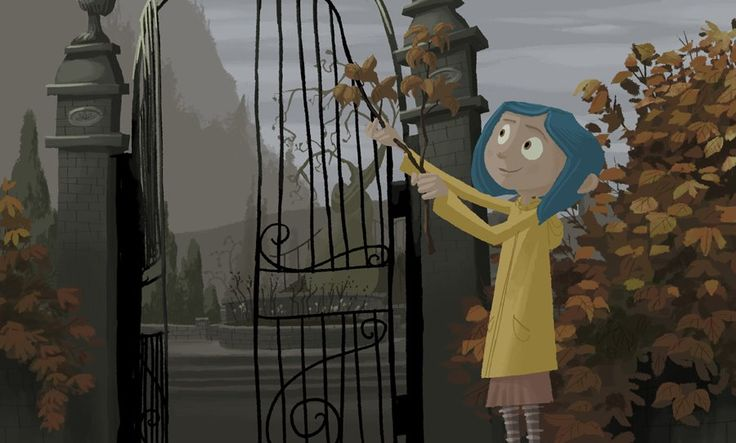 Living Lines Library: Coraline (2009) - Visual Development