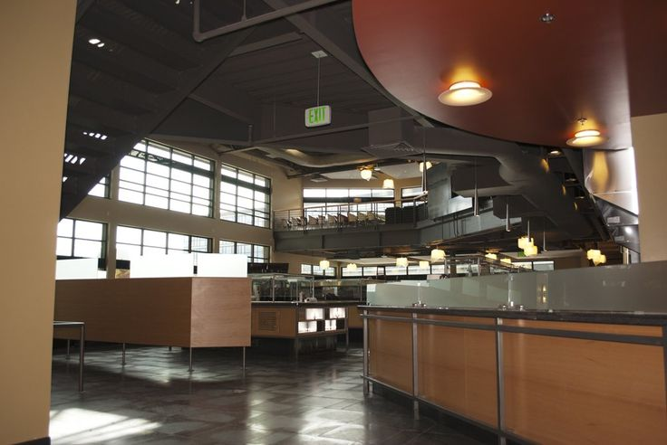 Everett Community College - Everett, WA, United States. The Parks Cafe is located in the Parks Student Union building.