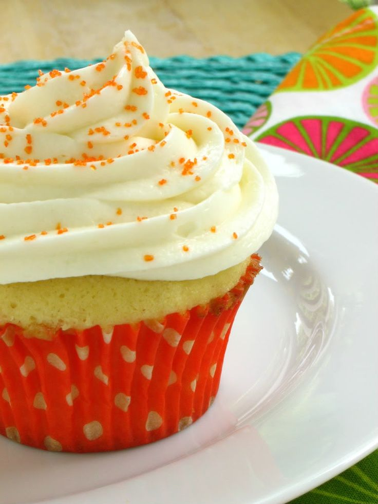 Creamsicle Cupcakes | Cupcakes | Pinterest
