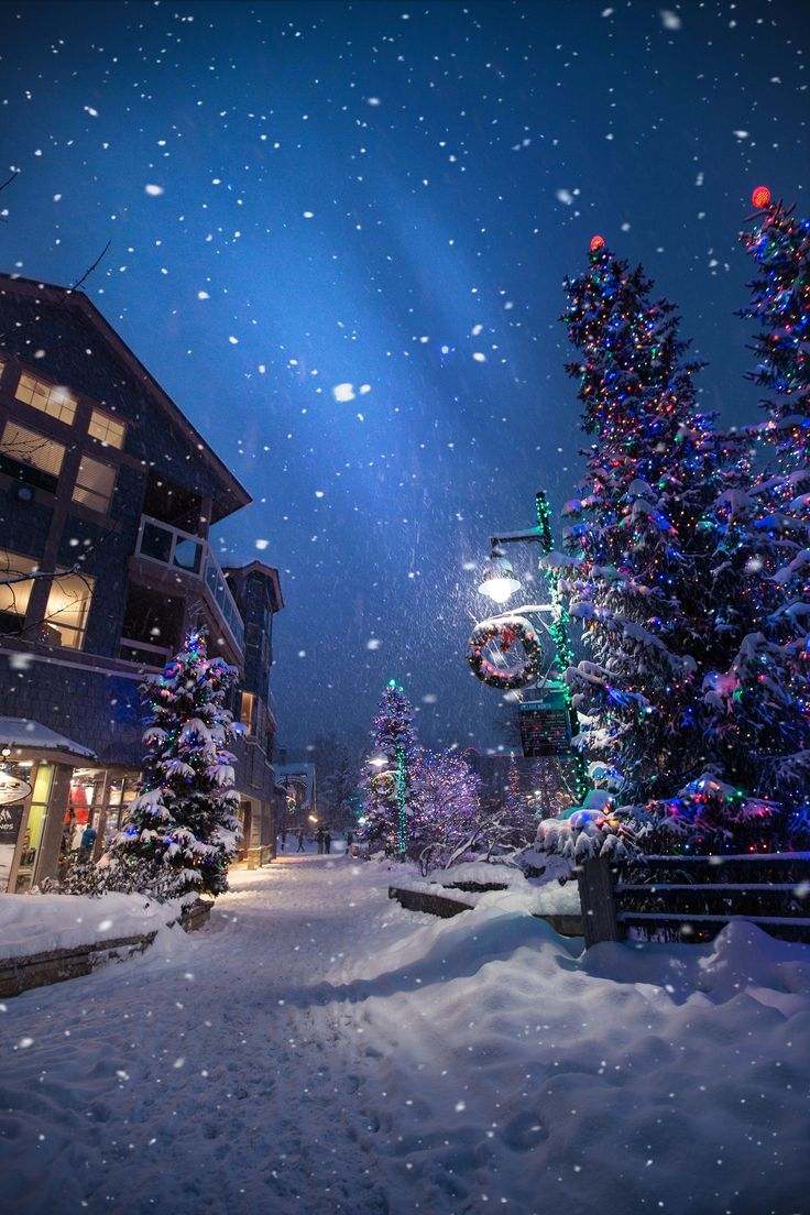 зима рождество картинки на телефон менее
