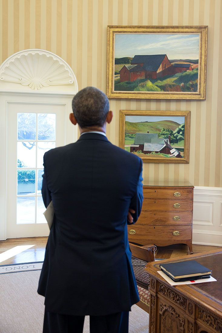 Hopper paintings in the Oval Office - Edward Hopper - Wikipedia, the free encyclopedia