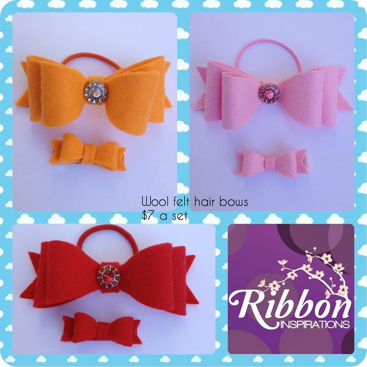 These hair bows are made out of wool felt (orange and red) and wool blend felt (pink). Winter Wonderland Market Night opens at 9pm, on Tuesday 27th May, 2014. The first person to comment sold will be able to purchase the item direct from the business listed on the item.