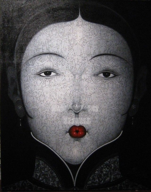 Chinese modern oil painting