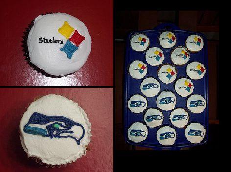 Pittsburgh Steelers Cupcakes