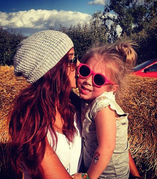 Chelsea Houska daughter Aubree Skye...