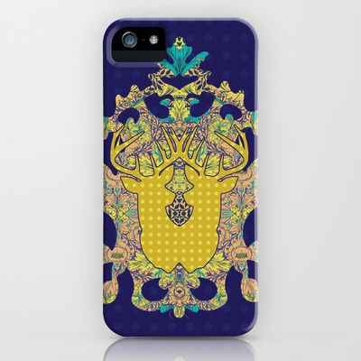 Blue Rose : Blue Polka iPhone & iPod Case by Geetika Gulia - $35.00