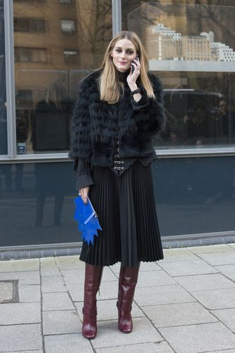 Fur and Pleats