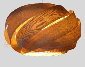 Wood Pendant LightingBeautiful Nest Pendant Lampmade of by oaklamp