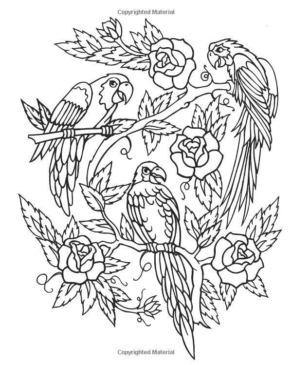 Ultimate Tattoo Coloring Book (Chartwell Coloring Books