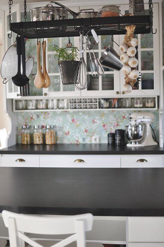 Beautiful kitchen storage | Desire to Inspire - BjornsdotterDesign