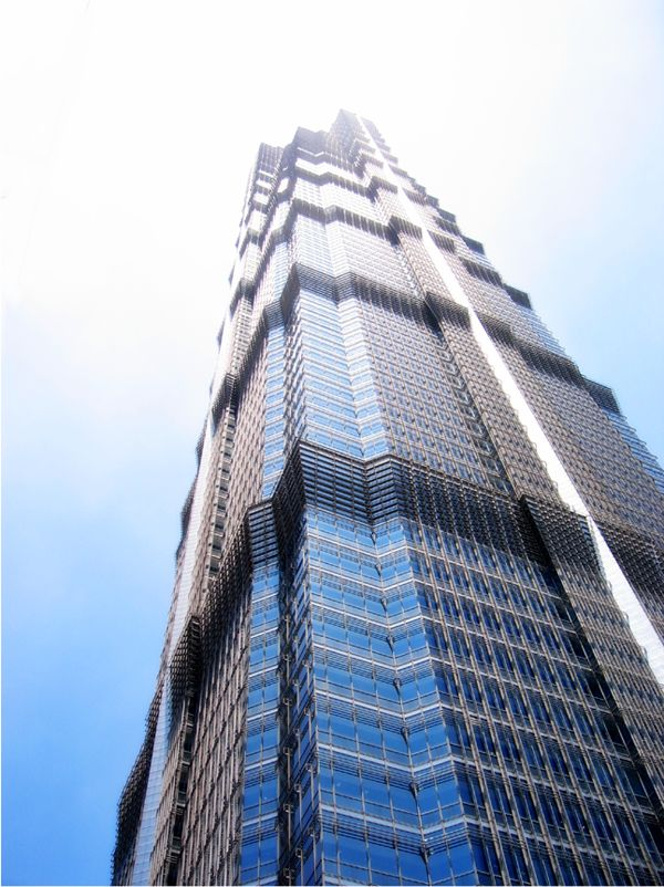 Jin Mao Tower-421 m