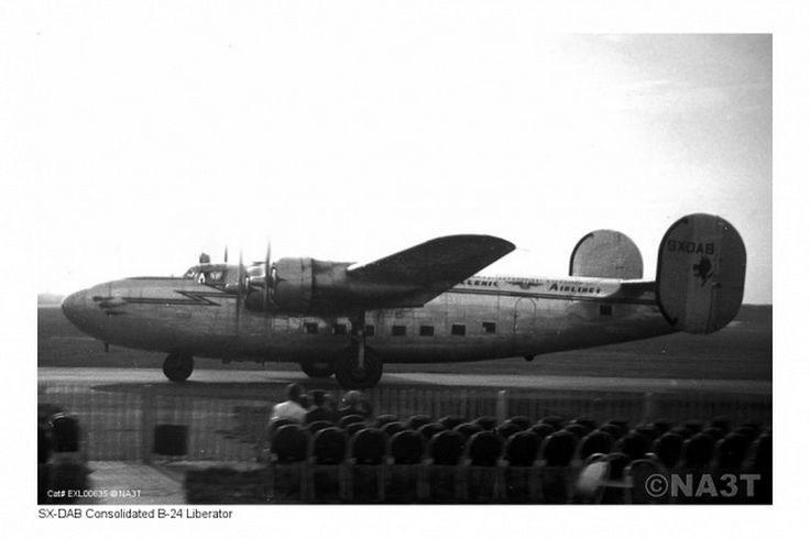 Hellenic Airlines Consolidated B-24 Liberator [SX-DAB]
