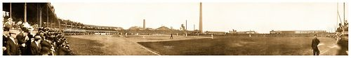 1910 Eastern League Opening Game Panoramic Pt.2 104 Years Ago Today - Newark, New Jersey - April 21, 1910 Rochester Bronchos vs. Newark Indians