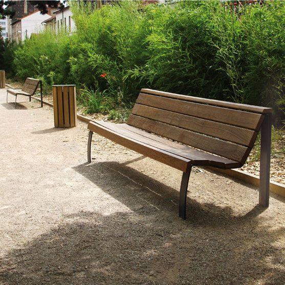 MADRID bench – mobilier urbain area