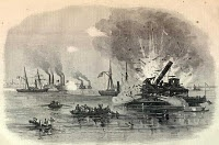 The Second Battle of Galveston on January 1st 1863 was a land and naval fight between Confederates and the occupying Union troops in Galveston Texas.
