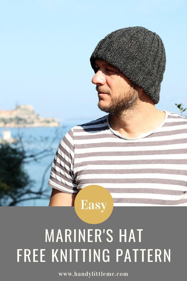 Mariner's Hat Pattern   Knit Hat Patterns   Knitting patterns free