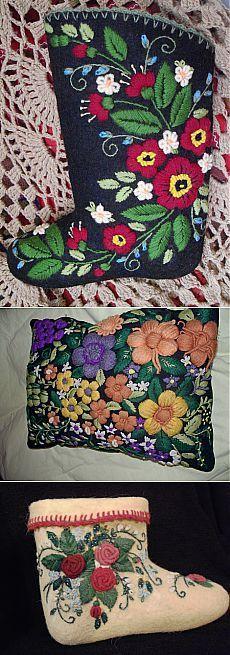 вышивка шерстью Ирины Геналиевой/авторские работы | Вышивка крестом