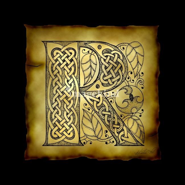 166 best celtic alphabet images on Pinterest