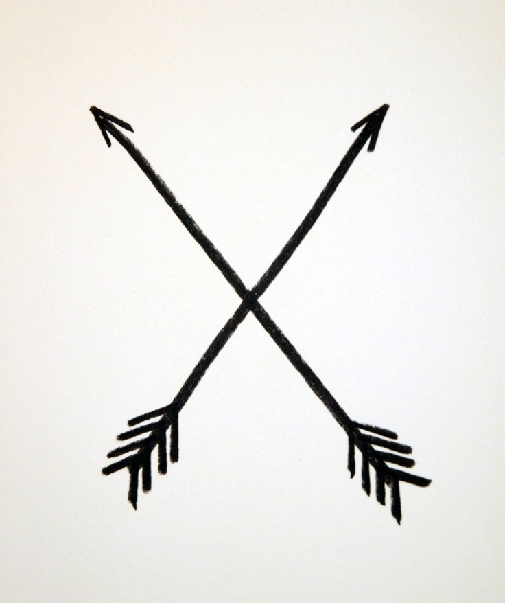 Native American Arrow Symbols Follow You Arrow Soft Cursive