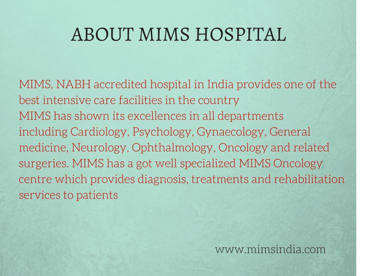 . MIMS is providing excellent quality health care of international standards to its clients MIMS has got an excellent Oncology Centre which provides better treatments, focusing on the emotional, physical and financial aspects of patients #Cancer #CancerTreatments #Calicut #Kerala #India #Treatments #Chemotherapy