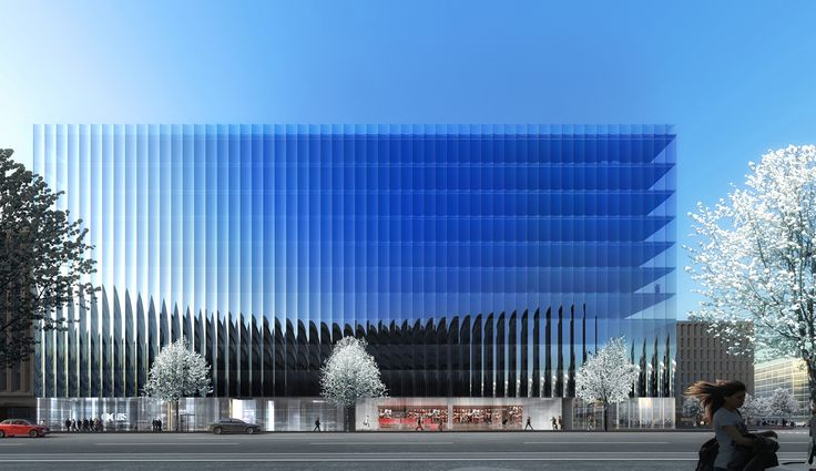 REX has released designs for 2050 M Street, an office building in Washington DC's Golden Triangle Business District. The 41,800 square meter (450,000...