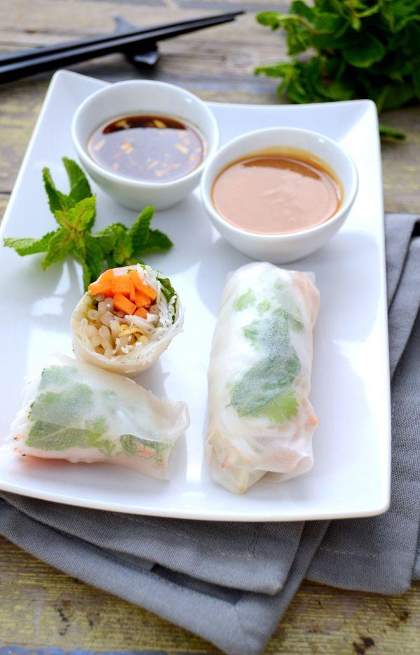 Rouleaux de printemps #vegan #sansgluten | Green Cuisine