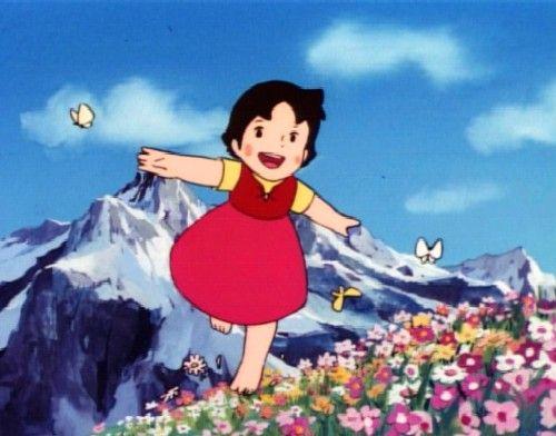 La serie de dibujos animados Heidi marcó una época. Se estrenó en Japón en 1974.