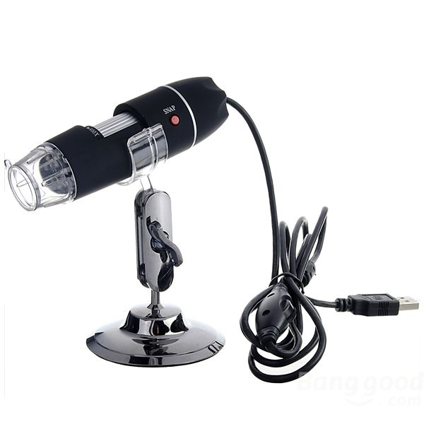 Wholesale Portable 40X-800X 8 LED USB Digital Microscope Camera Magnifier