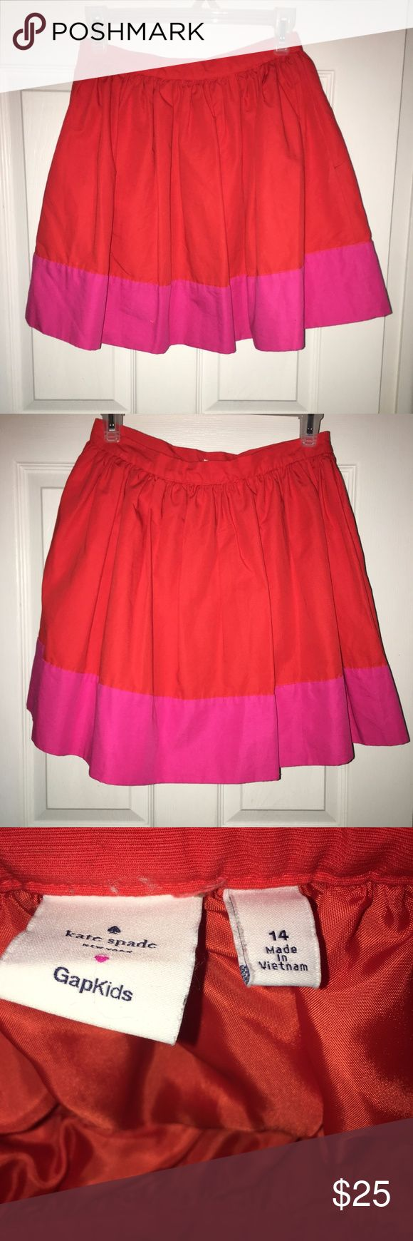 Girls KATE SPADE for GAP Kids Red Hot Pink Cotton Girls KATE SPADE for GAP Kids Red Hot Pink Cotton Linen Blend Skirt Sz 14. Very good condition, no rips, no tears, no stains. #katespadegapkids #katespadeforgapkidsclothing #kidskatespadeclothing #katespadegapkidslinenblendskirt #gapkidslinenblendskirtsz14 kate spade Bottoms Skirts