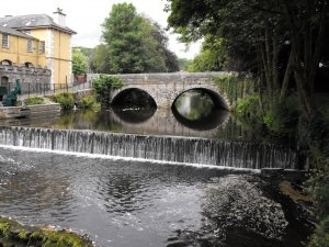 The Abbey Bridge, Tavistock, Devon, England. I used to walk past this on the way to work every day.