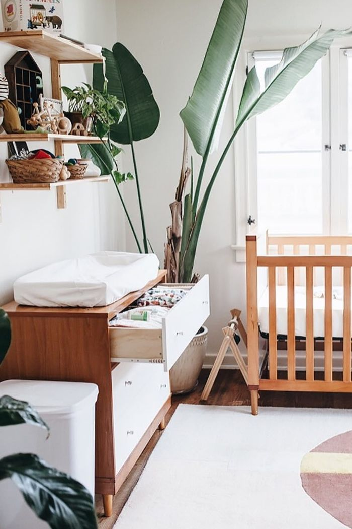 These modern nurseries are proof that clean design can make a striking space for your baby.