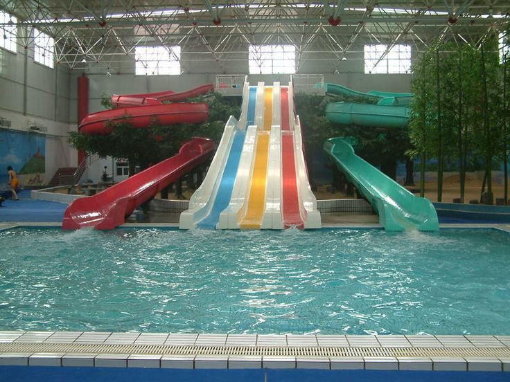 Indoor pool with waterslide  Swimming Pools for Sale | swimming pool slide for sale ...