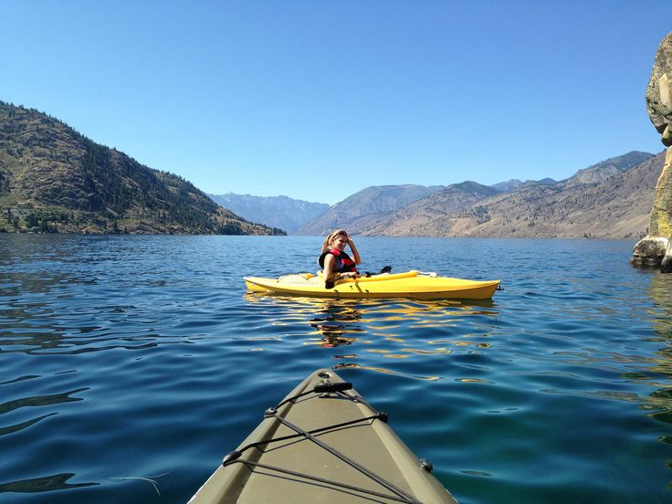 Kayaking on Lake Chelan | Kayaking | Pinterest | Lakes, Canoeing and Boating