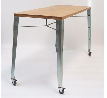 The custom WB high bench comes with the option of braked castors (castors for indoor use only). http://www.zenithinteriors.com.au/product/2488/wb-high-bench-