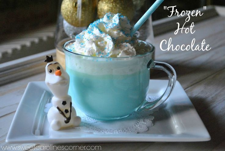 """Frozen"" Hot Chocolate"