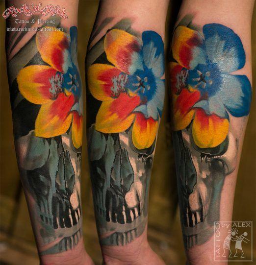 Flower Tree Tattoo: 712 Best Tattoos: Flower, Plant, And Tree Tattoos Images