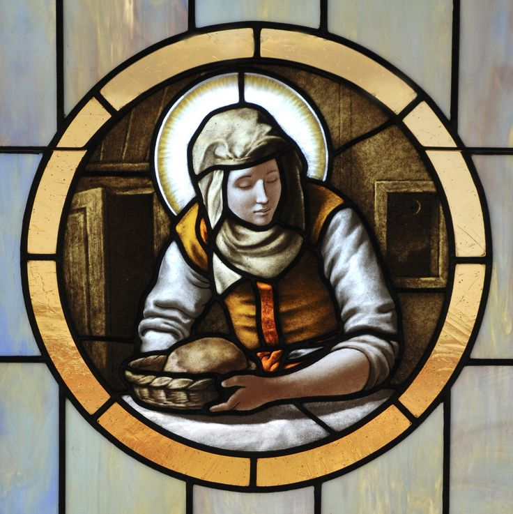 """Saint of the day – July 29 – St Martha #pinterest The Patron Saint of servants and cooks """"Jesus loved Martha and Mary and Lazarus."""" This unique statement in John's gospel tells us of the special relationship Jesus had with Martha, her sister, and her brother. Apparently Jesus was a frequent....