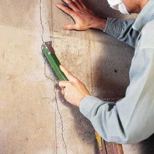 thisoldhouse.com | from Fixing Cracks In Concrete Walls