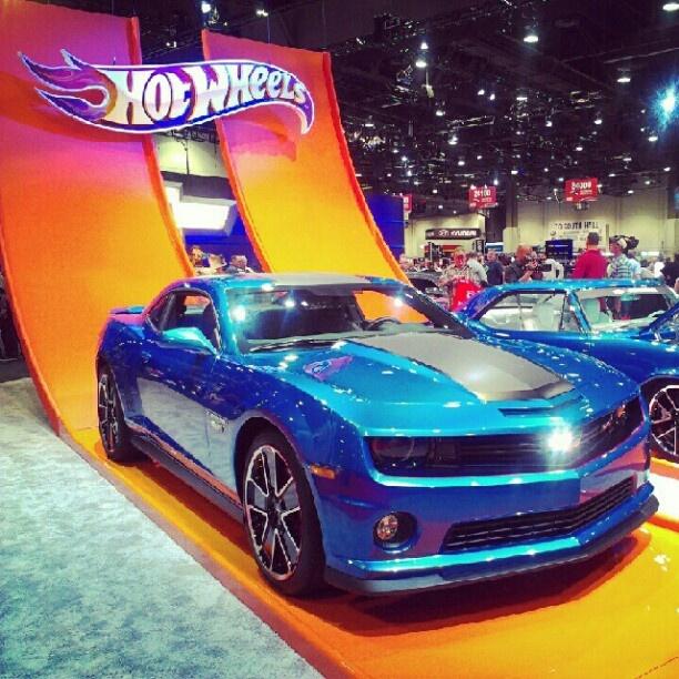 Chevrolet Camaro Hot Wheels Cars At SEMA Hotwheels