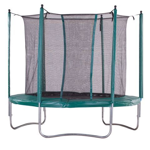 iBounce 8ft Trampoline With Enclosure 2014 - TrampolinesWorld