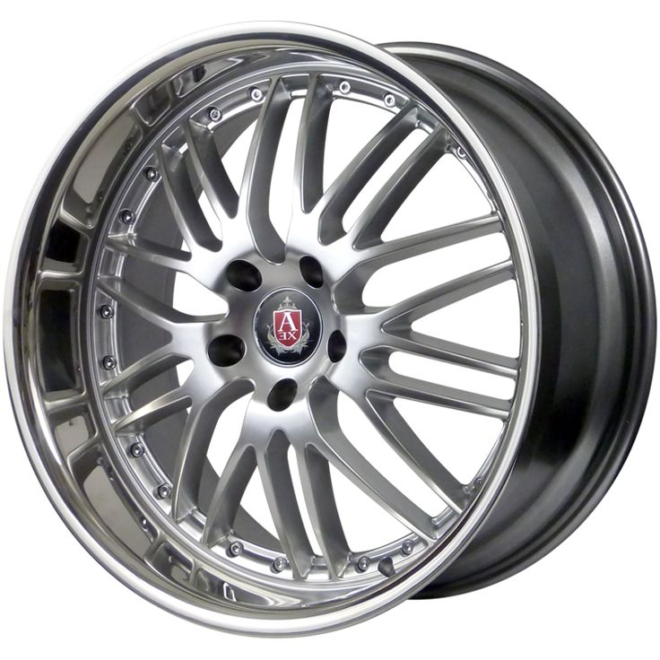 AXE EX1 HYPER SILVER SS LIP alloy wheels with stunning look for 5 studd wheels in HYPER SILVER SS LIP finish with 19 inch rim size