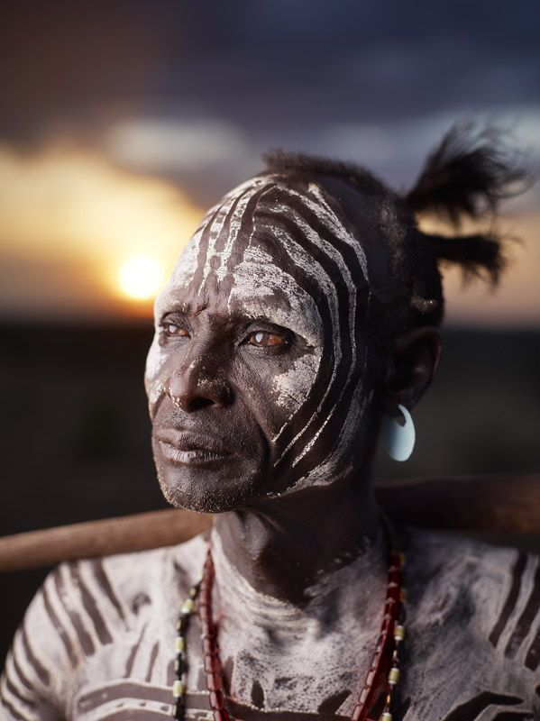 The Karo are considered one of the Omo Valley's most endangered ethnic group with an estimated population of only 1500 remaining.  Karo Tribe, Lower Omo Valley, Ethiopia
