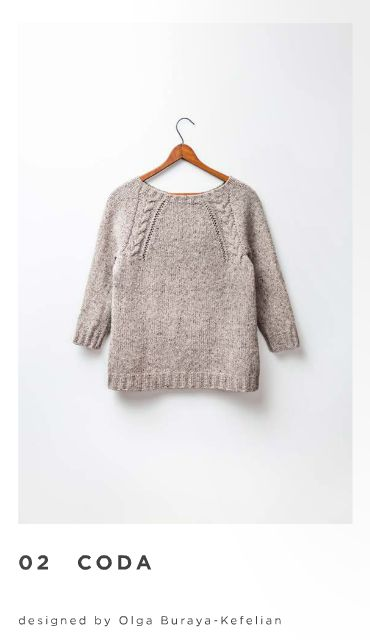 Coda pullover: Brooklyn tweed
