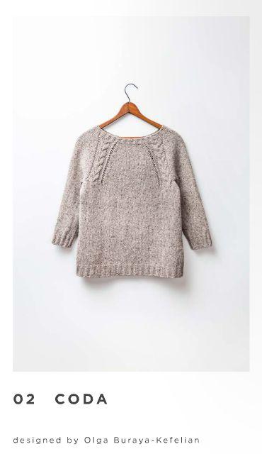 Coda pullover: Brooklyn tweed