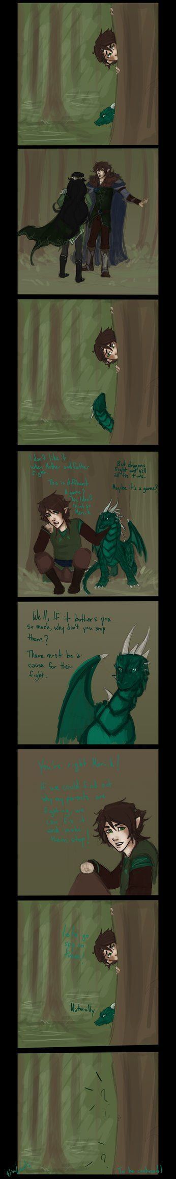 The Adventures of Kevan and Merrik by ElizaLento on DeviantArt