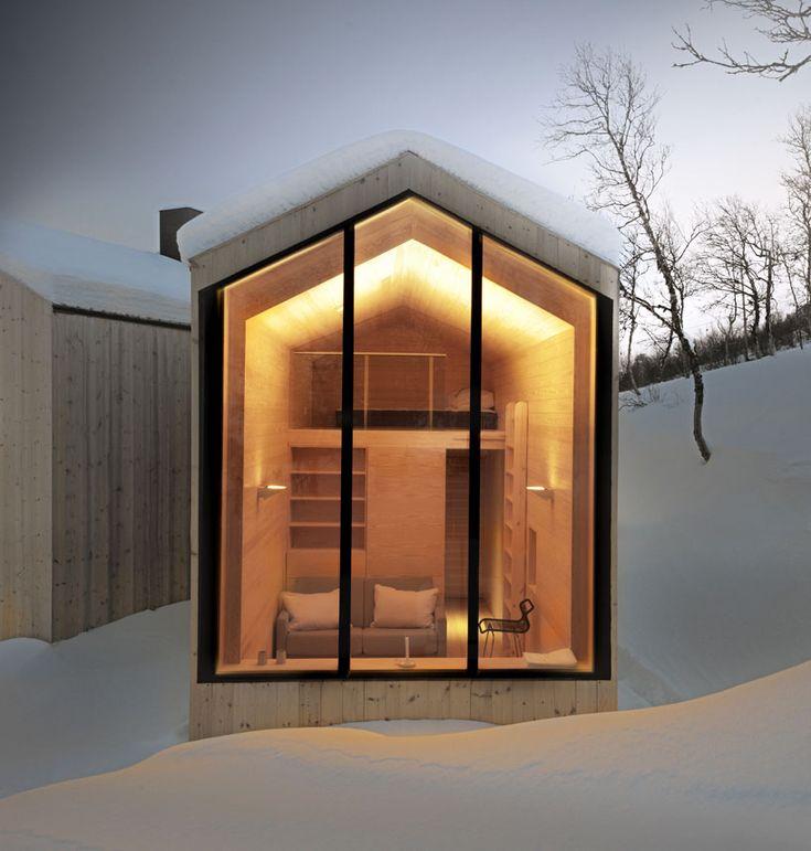reiulf ramstad split view mountain lodge designboom