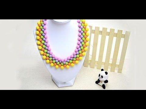 Бисерное ожерелье - воротник