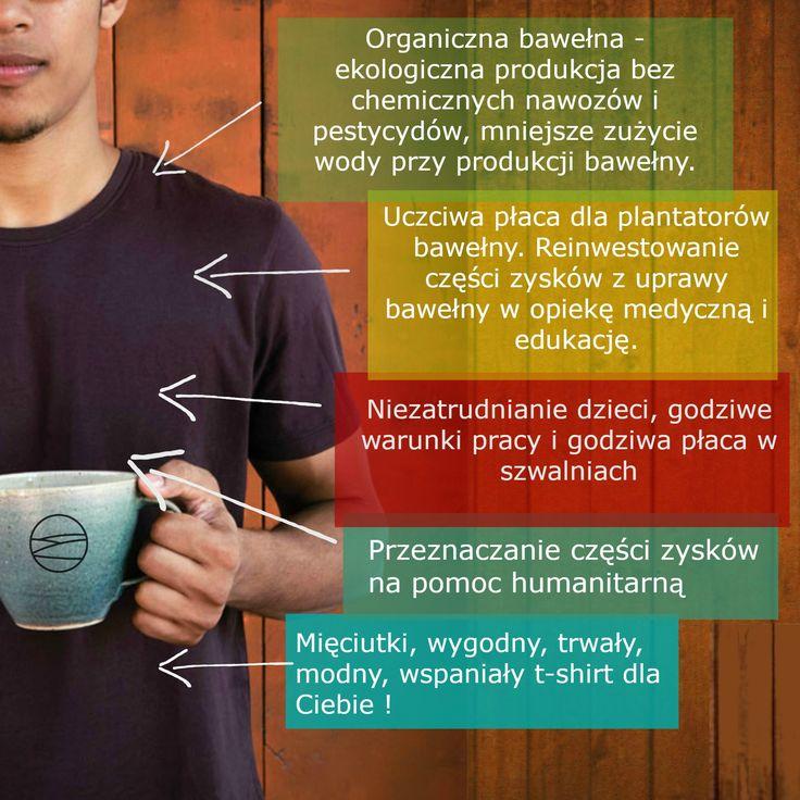 Koszulki No Nasties - PlanPlaneta - 100% organiczne, 100% Fairtrade, 100% wspaniałe!
