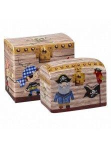 Churchill China Pirates Treasure Chest Child's Money Box