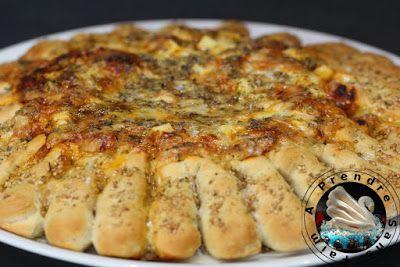 Pizza soleil aux 4 fromages (pas à pas en photos)
